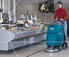 Tennant Echo floor cleaner