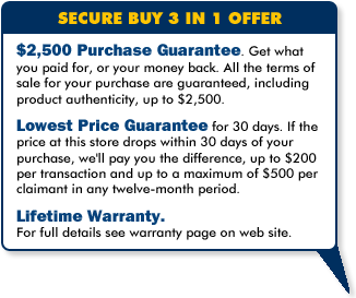Secure Buy 3 in 1 Offer